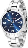 Sector Men's 41mm Steel Bracelet & Case Quartz Dial Watch 3253486007