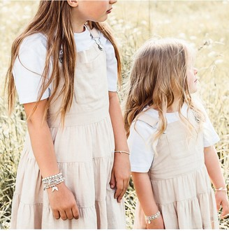 Chlobo ChloBo Childrens Sterling Silver Triple Heart Bracelet - Silver