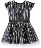 Halabaloo Little Girl's Sparkle Ribbon Dress