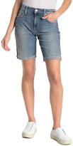 Joe's Jeans Bermuda Raw Hem Shorts