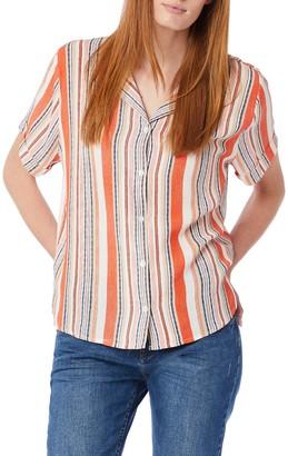 SUPPLIES BY UNION BAY Jewel Stripe Print Katalina Camp Shirt