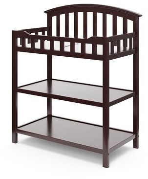 Graco Changing Table with Pad Color: Pebble Gray