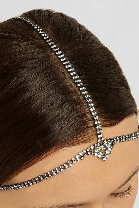 Jennifer Behr Ina Swarovski crystal headpiece