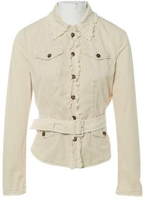 Prada Beige Cotton Jackets