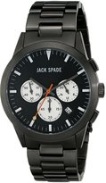 Jack Spade Men's WURU0190 Analog Display Japanese Quartz Grey Watch