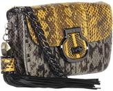 Rafe New York Melsa Watersnake Crossbody (Yellow/Grey) - Bags and Luggage