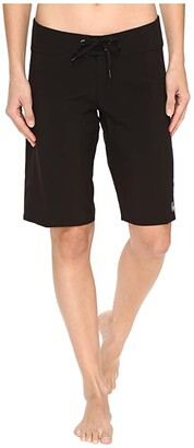 Volcom Simply Solid 11 Boardshorts (Black) Women's Swimwear