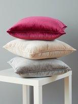 M&Co Velour cushion
