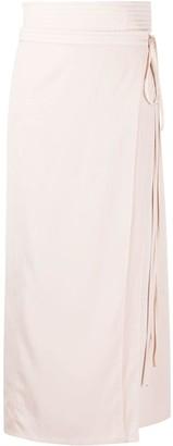 Lemaire High-Waisted Wrap Skirt