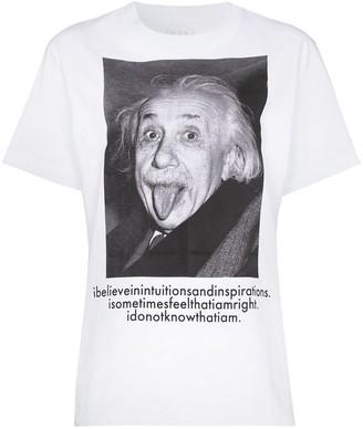 Sacai Einstein-print T-shirt