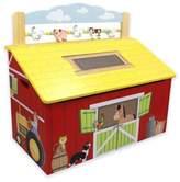 Teamson Fantasy Fields Happy Farm Toy Storage Box