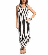 Jordan Taylor Tribal Racer Back Maxi Dress 8113415