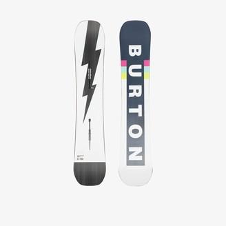 Burton Ak white Custom 158 camber snowboard
