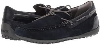 Geox Snake Mocc (Navy) Men's Shoes