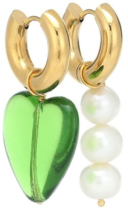 Timeless Pearly 24kt Gold-Plated Earrings With Pearls