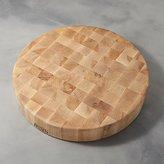 "Crate & Barrel John Boos 18""x3"" End Grain Maple Cutting Board"