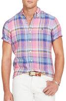 Polo Ralph Lauren Checked Linen Sport Shirt
