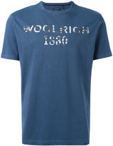 Woolrich logo print T-shirt - men - Cotton - L