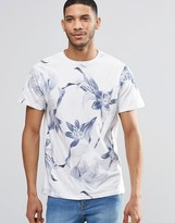 Pull&bear T-shirt With Floral Print In White