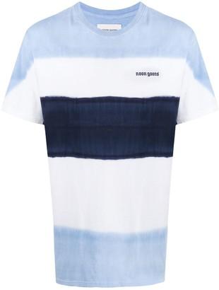 Noon Goons striped print short sleeve T-shirt