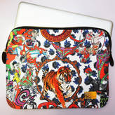 JESSICA RUSSELL FLINT Crazy Circus Print Laptop Case In Giftbag