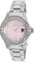 Invicta Women's 'Sea Base' Quartz Stainless Steel Casual Watch, Color:Silver-Toned (Model: 20388)