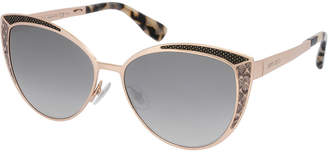 Jimmy Choo Women's Domi/S 56Mm Sunglasses
