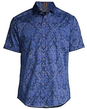 Robert Graham Men's Classic-Fit Wrights Floral Shirt
