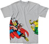 JCPenney Novelty T-Shirts Marvel Thor Brother Conflict Tee