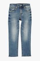 7 For All Mankind Boys 4-7 Slimmy Slim Straight 5-Pocket Denim Jeans In Barbados Blue