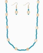 Charming charlie Beaded Sunshine Necklace Set