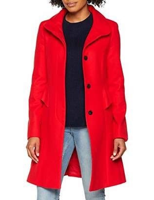 Comma Women's 8T.809.52.2062 Coat, (Spicy red 3125)