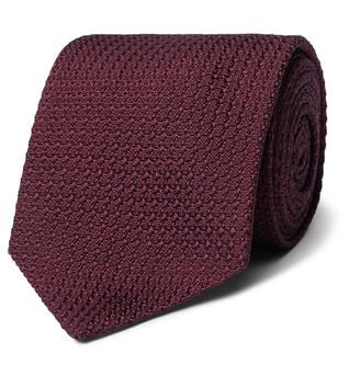 Man 1924 8cm Knitted Silk Tie