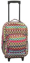 """Rockland Rolling Backpack- Tribal (17"""")"""