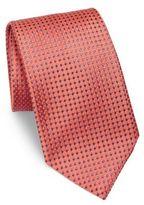 Charvet Small Micro Pattern Silk Tie