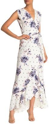 Yumi Kim Venezia Floral Maxi Wrap Dress