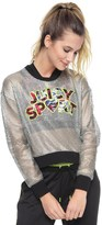 Juicy Couture Sport Silver Mesh Pullover