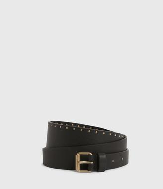 AllSaints Alcor Wide Leather Belt
