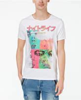 GUESS Men's Night Life Graphic-Print T-Shirt