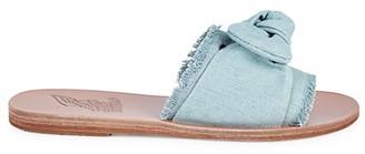 Ancient Greek Sandals Taygette Bow Slide Sandals