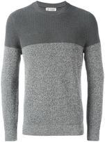 Brunello Cucinelli tonal ribbed jumper - men - Cotton - 52
