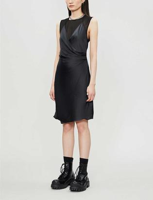 AllSaints Carlotta sleeveless woven midi dress