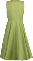 Alaia Square Neck Zip Front Dress