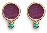 Astley Clarke 'Ruby Mars' diamond 14k gold stud earrings