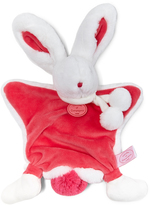 Doudou Et Compagnie Strawberry Bunny Plush Toy