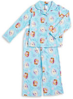 AME Sleepwear Frozen Pajama Top and Pants Set