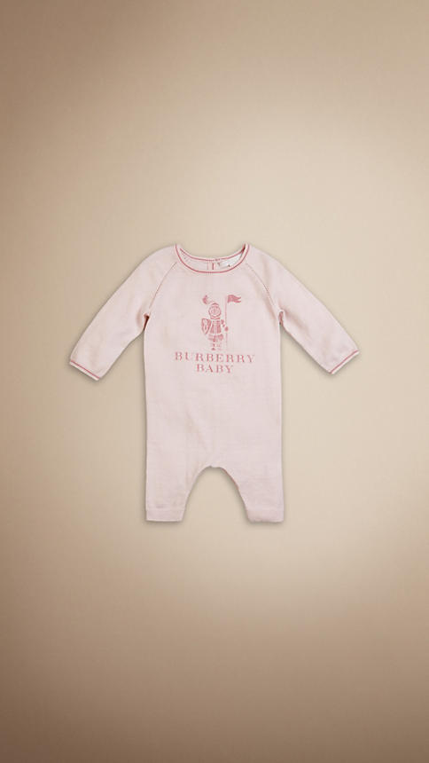 Burberry Baby Knight Playsuit