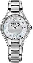 Raymond Weil Ladies Noemia Silvertone Watch with Diamonds