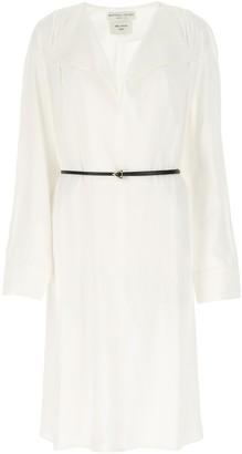 Bottega Veneta Belted Flared Shirt Dress