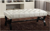 Asstd National Brand Baxton Studio Viviana Faux-Leather Upholstered Bench